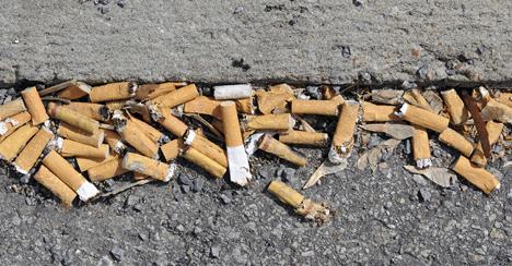 Cigarettebutt