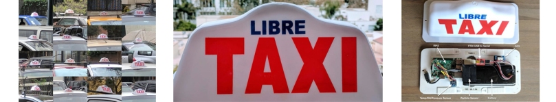 taxi air monitoring