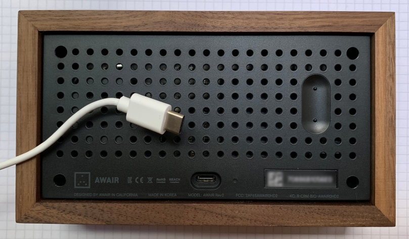 awair back usb-c