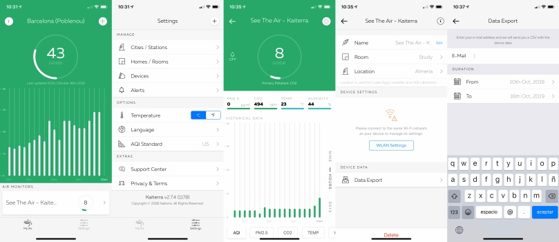 Kaiterra app iOS