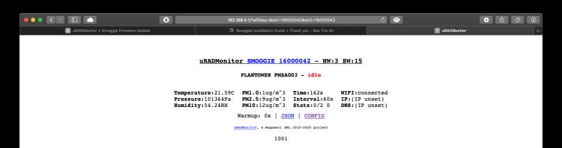 smoggie updated firmware 2