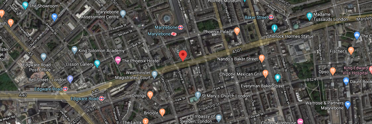 London Marylebone Road (MY1)