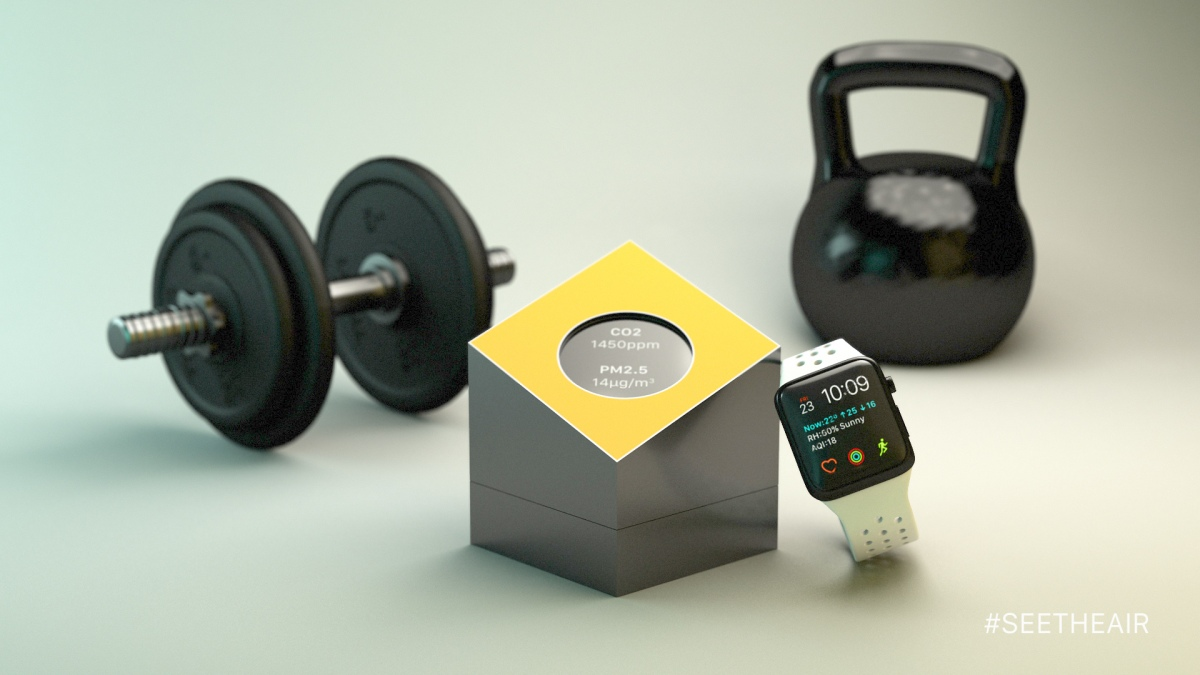 Fitness Air Quality Monitor, is that possible?